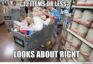 Scumbag shopper