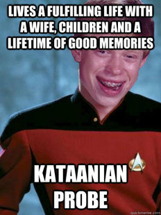 Bad Luck Ensign Brian