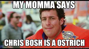 chris bosh ostrich - photo #16