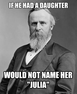 hip rutherford b hayes