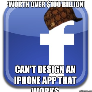 Scumbag Facebook