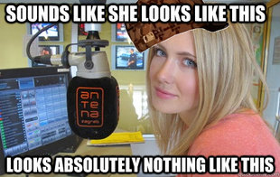 Scumbag radio dj girl