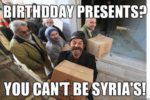 happy syrian