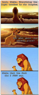 If the Lion King was rated R