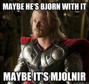 Maybe its Mjolnir