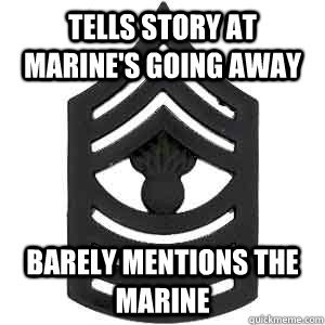 Scumbag Senior Enlisted