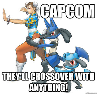 Capcoms street fighter x pokemon meme quickmeme
