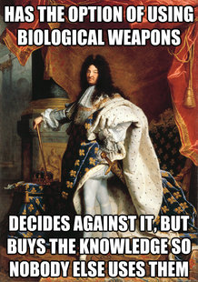 Good Guy King Louis XIV