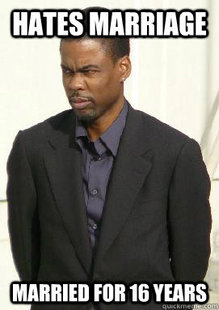 scumbag Chris Rock