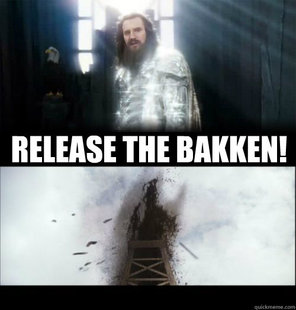 RELEASE THE BAKKEN!