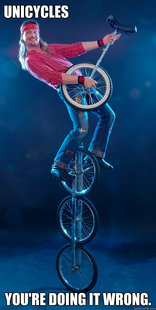 Unicycle Guy