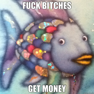 Thug Rainbow Fish