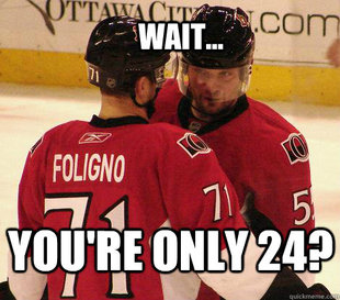 Wait... Foligno and Gonchar
