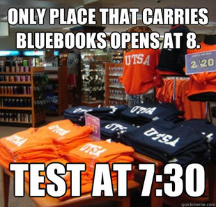 Scumbag bookstore.