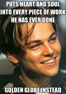 Bad Luck Leonardo Dicaprio