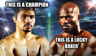 Pacman is still the Champ