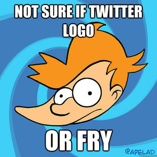 Not Sure if Twitter Logo, Or fry