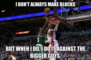 Wade the Shot Blocker