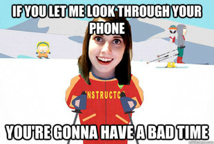 Overly Attached Girlfriend Ski Instructor