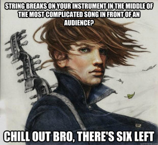 Advice Kvothe