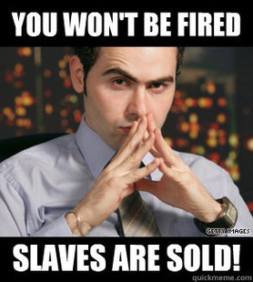Slaves are sold