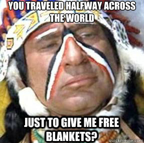 Skeptical Native American