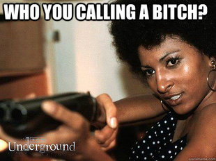 Who you calling a bitch