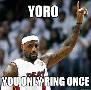 You Only Ring Once