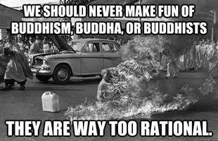 irrational buddhist monk