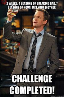 barney stinson high five meme - photo #18
