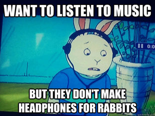 First World Rabbit Problems