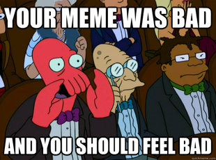 Zoidberg you should feel bad