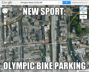 Olympic Bike Parking