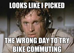 Sweaty Bike Commuter