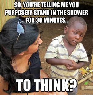 Skeptical 3rd World Child