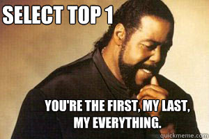SELECT TOP 1