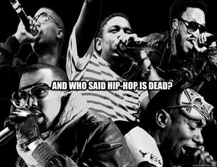 Hip-hop is well and alive!