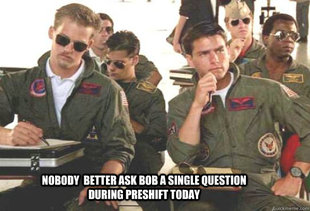 Top Gun Preshift