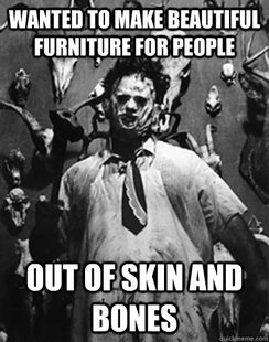 Misunderstood Leatherface