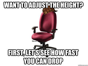 Scumbag Office Chair