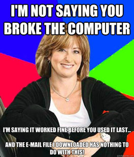 Uneducated Internet Mom