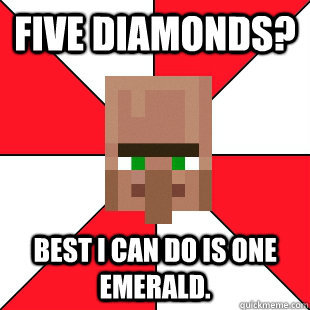 Minecraft Pawn Star