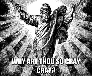 Cray cray for jesus