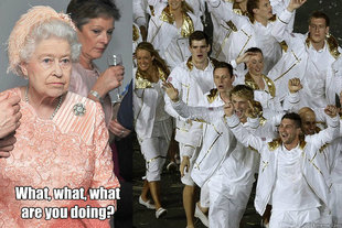 Queen Olympics What are you doing
