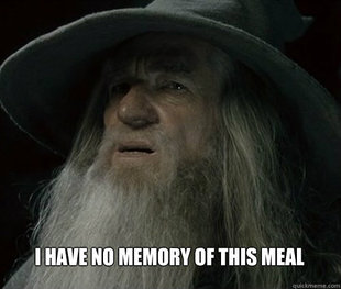 Forgetful Gandalf
