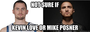 Kevin Loves Mike Posner