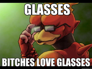 Magmar glasses