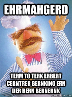 Triumphant Swedish Chef