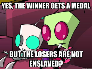 Confused Invader Zim