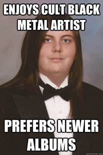 Sophisticated Metal-Head